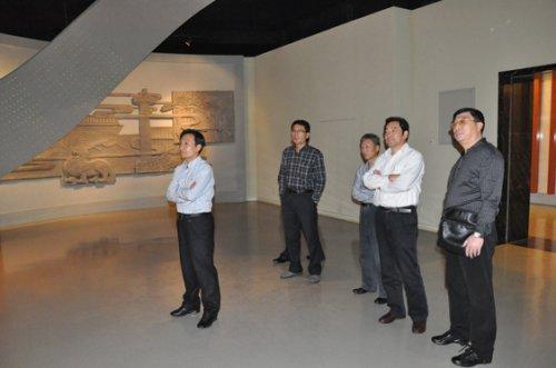 常州博物馆 常州市地税局史副局长陪同青岛市