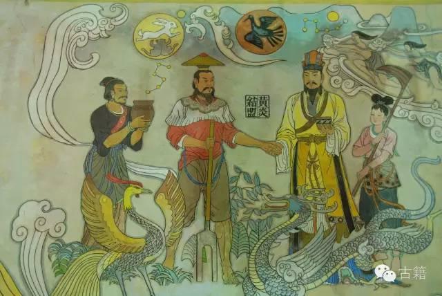 法式手绘壁图
